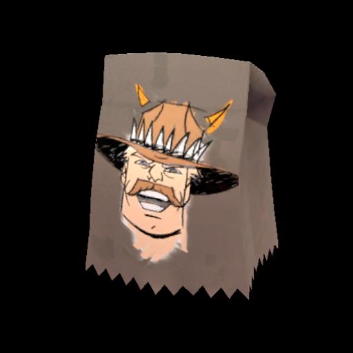 lhavelund [reddit]'s Saxton Hale Mask divider