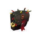 Mildly Menacing Festive Buff Banner