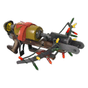Gore-Spattered Specialized Killstreak Festive Crusader's Crossbow