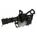 Mildly Menacing Specialized Killstreak Festive Minigun