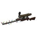 Gore-Spattered Festive Sniper Rifle
