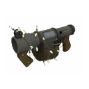Unremarkable Festive Stickybomb Launcher
