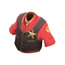 Server-Clearing Wild West Waistcoat