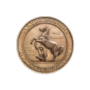 Quality 6 Gun Mettle Campaign Coin (5809)