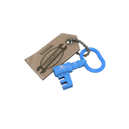 Blue Moon Cosmetic Key