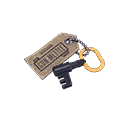 Self-Made Gun Mettle Cosmetic Key