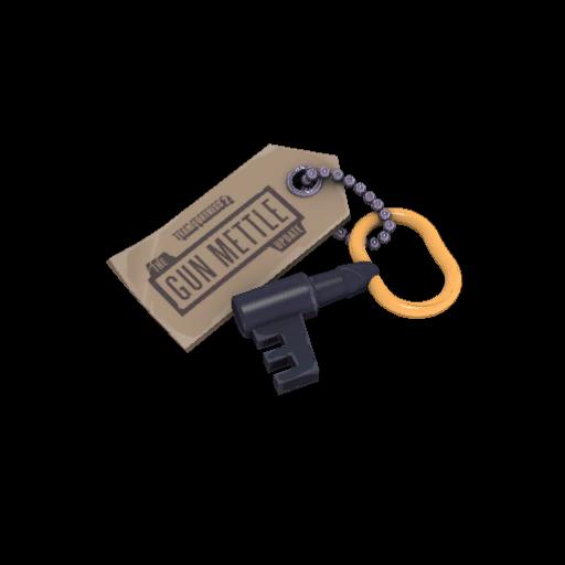Gun Mettle Cosmetic Key