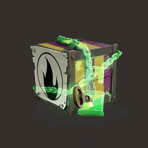 Unlocked Creepy Pyro Crate