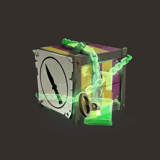 Unlocked Creepy Spy Crate