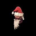 Strange Shoestring Santa