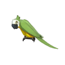 """LAUGHING HAT KING'S LAUGHING PARROT"""