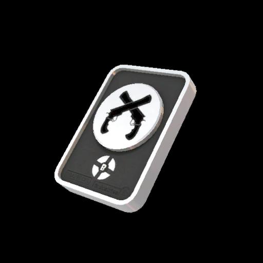 Platinum Dueling Badge