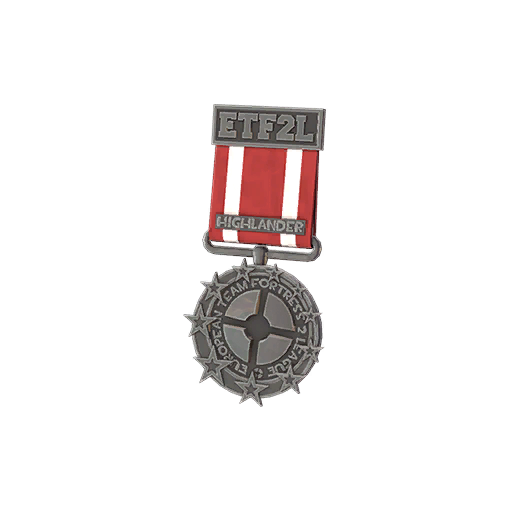 ETF2L Highlander Low Participation Medal