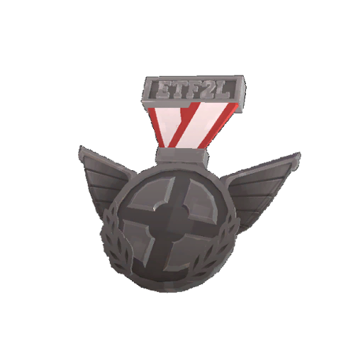 Genuine ETF2L Highlander Open Participation Medal
