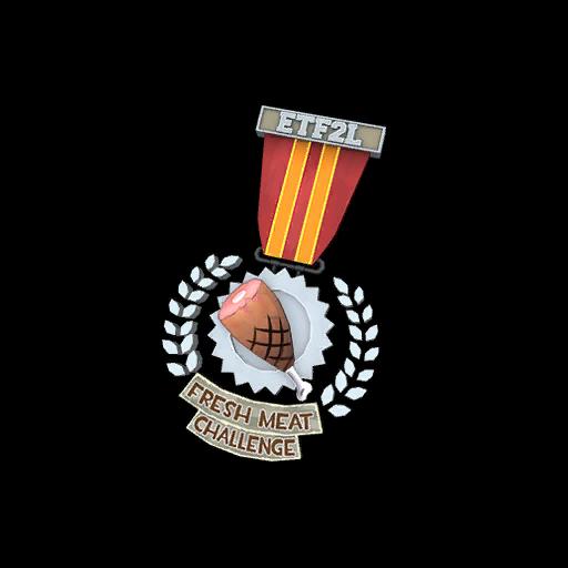 ETF2L Fresh Meat Challenge Silver Medal