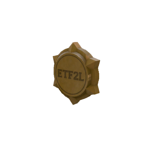 Genuine ETF2L 6v6 Division 6 Participation Medal