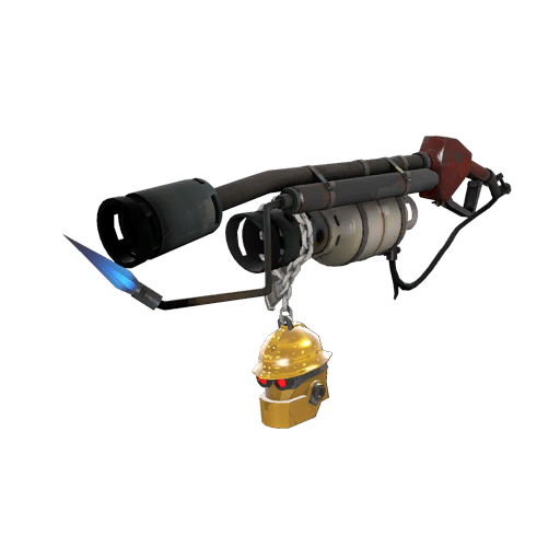 Gold Botkiller Flame Thrower Mk.II