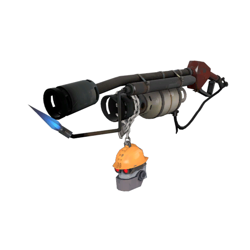 Silver Botkiller Flame Thrower Mk.II