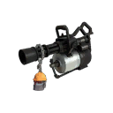 Scarcely Lethal Silver Botkiller Minigun Mk.II