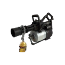 Gold Botkiller Minigun Mk.II