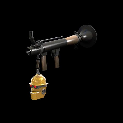 Gold Botkiller Rocket Launcher Mk.II