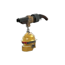 Uncharitable Gold Botkiller Scattergun Mk.II