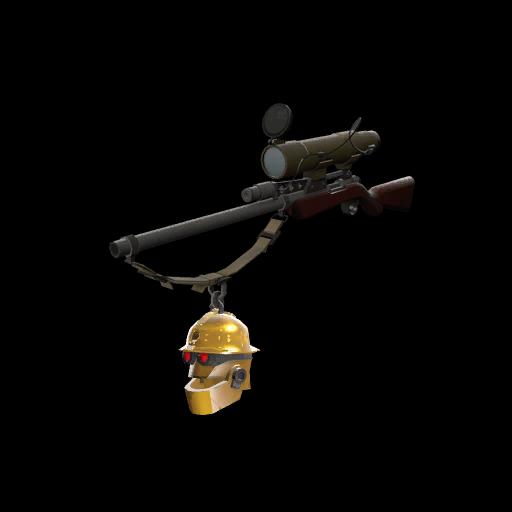 Gold Botkiller Sniper Rifle Mk.II