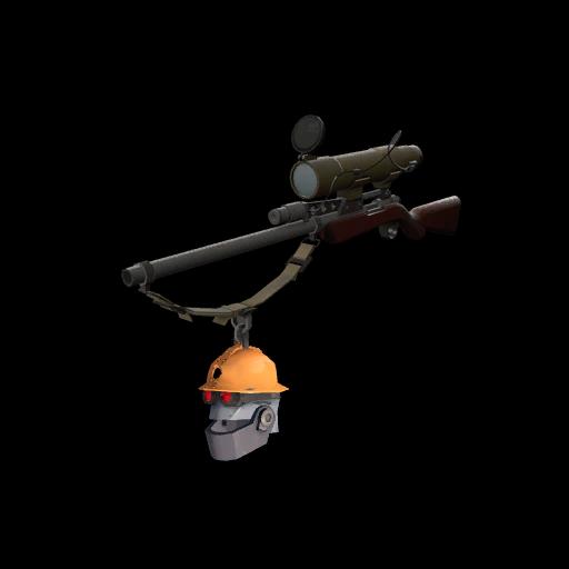 Silver Botkiller Sniper Rifle Mk.II