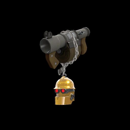 Gold Botkiller Stickybomb Launcher Mk.II