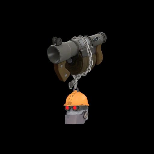 Silver Botkiller Stickybomb Launcher Mk.II