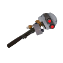 Mildly Menacing Silver Botkiller Wrench Mk.II