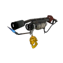 Gold Botkiller Flame Thrower Mk.I