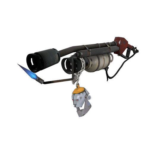 Strange Silver Botkiller Flame Thrower Mk.I