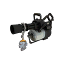Sufficiently Lethal Silver Botkiller Minigun Mk.I