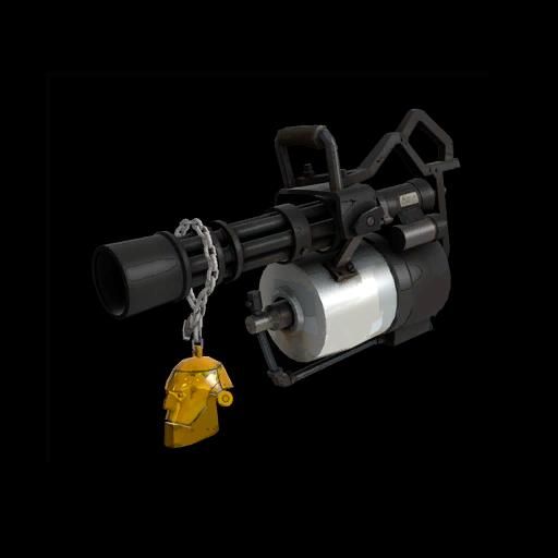 Gold Botkiller Minigun Mk.I