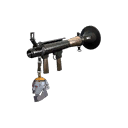 Server-Clearing Professional Killstreak Silver Botkiller Rocket Launcher Mk.I