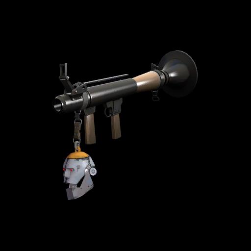 Silver Botkiller Rocket Launcher Mk.I