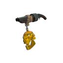 Gore-Spattered Gold Botkiller Scattergun Mk.I
