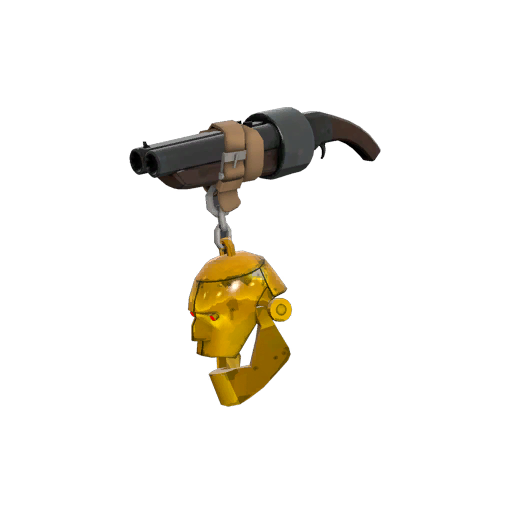 Gold Botkiller Scattergun Mk.I