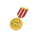 Quality 6 Gamers Assembly Gold Medal (8593)