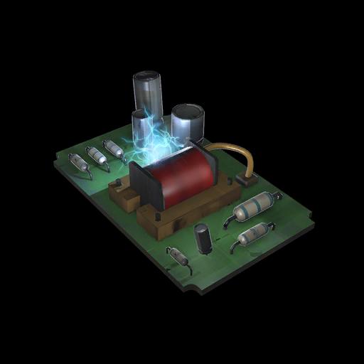 Glitched Circuit Board
