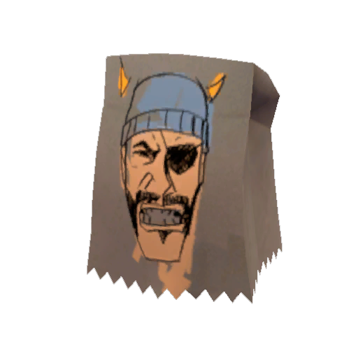 &#39;Tidelag&#39;s Demoman Mask