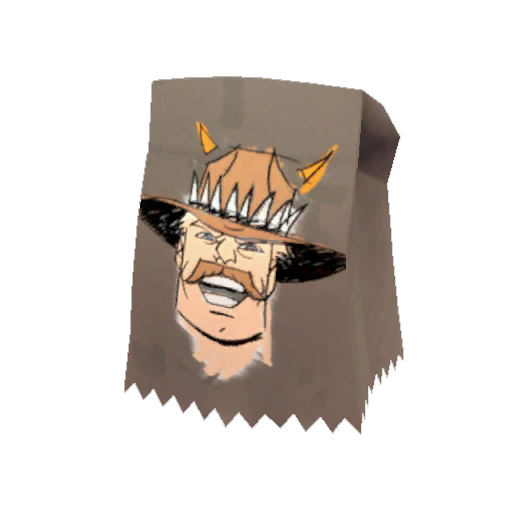 lhavelund [reddit]&#39;s Saxton Hale Mask