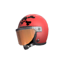 Unusual Death Racer's Helmet