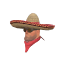 Ragged Unusual Wide-Brimmed Bandito