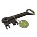 Quality 6 Green Summer 2013 Cooler Key (5649)