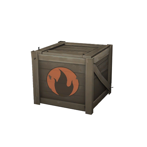 Unlocked Cosmetic Crate Pyro