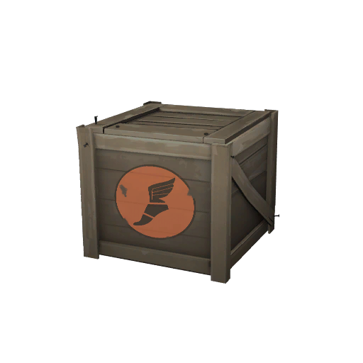 Unlocked Cosmetic Crate Scout