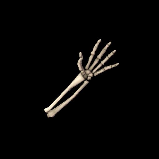 Voodoo-Cursed Skeleton