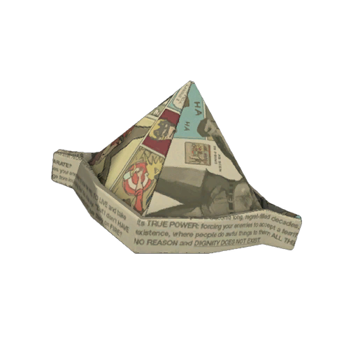 Lagg&#39;s Manniversary Paper Hat